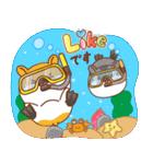 夏のハムギャング2 (日本語)(個別スタンプ:12)