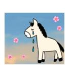 馬のスプリンからメッセージ 第2弾(個別スタンプ:24)