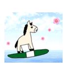 馬のスプリンからメッセージ 第2弾(個別スタンプ:32)