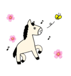 馬のスプリンからメッセージ 第2弾(個別スタンプ:36)