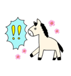 馬のスプリンからメッセージ 第2弾(個別スタンプ:39)