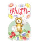 花と猫 BIGスタンプ(個別スタンプ:29)
