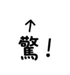 写真に貼って使うツッコミ文字スタンプ(個別スタンプ:7)