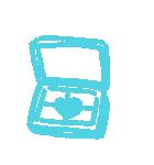 写真に貼れる♥らくがき風デコ(カラフル)(個別スタンプ:14)