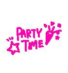らくがき風デコスタンプ☆パーティー(個別スタンプ:9)