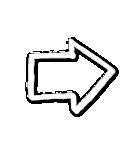 写真に貼れる♥らくがき風デコスタンプ(白)(個別スタンプ:37)