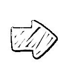 写真に貼れる♥らくがき風デコスタンプ(白)(個別スタンプ:38)