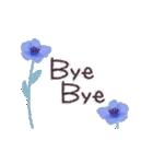♡大人の女性✳︎動く✳︎お花のスタンプ♡(個別スタンプ:23)