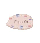 ♡動く✳︎お花のコンパクトスタンプ♡(個別スタンプ:20)