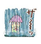 夏・天気✨【白うさぎ&時々インコ】(個別スタンプ:26)
