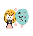 ♡ナチュラル♡優しい敬語♡(個別スタンプ:1)