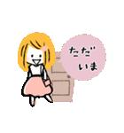 ♡ナチュラル♡優しい敬語♡(個別スタンプ:14)