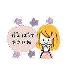 ♡ナチュラル♡優しい敬語♡(個別スタンプ:21)