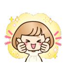 おかっぱ女子【敬語・丁寧語】(個別スタンプ:17)