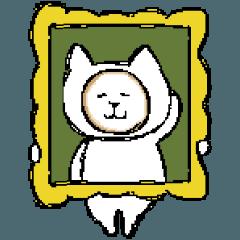 [LINEスタンプ] ネコ、そのろく