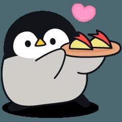 [LINEスタンプ] 心くばりペンギン アクションver.