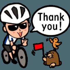 [LINEスタンプ] 自転車乗りのラインスタンプ