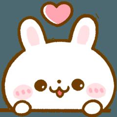 [LINEスタンプ] 大人可愛い♡うさぎのほいっぷ