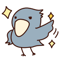 [LINEスタンプ] ハシビロコウの日々色々