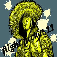 [LINEスタンプ] フライトジャケットーズ11