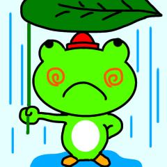 [LINEスタンプ] 福...カエル4