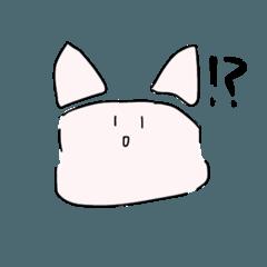 [LINEスタンプ] 伝えたいネコ