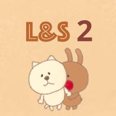 [LINEスタンプ] 繊細なふたり〜シーズン2