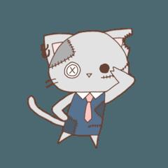 [LINEスタンプ] 一応、ネコやってます。