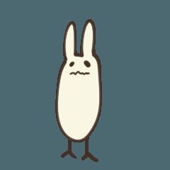 [LINEスタンプ] 常に体調不良うさぎ