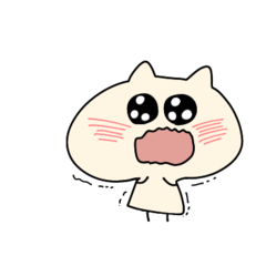 [LINEスタンプ] 猫のぷんちゃん