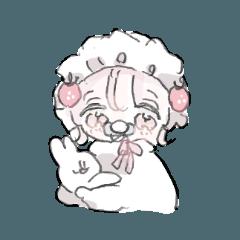 [LINEスタンプ] 3時のおやつちゃん