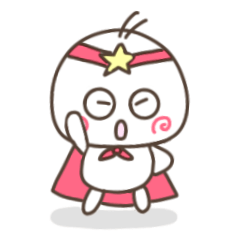 [LINEスタンプ] しろぼ【ほんの少し毒舌】