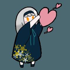 [LINEスタンプ] 星空の子
