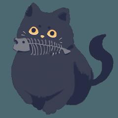 [LINEスタンプ] 道端に猫がいます