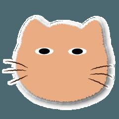 [LINEスタンプ] 仕事中の色いろいろ猫2