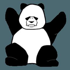 [LINEスタンプ] パンダのダダ 冬編