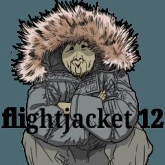 [LINEスタンプ] フライトジャケットーズ 12