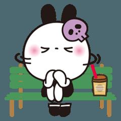 [LINEスタンプ] 自虐気味スタンプ⭐️毒うさちゃん[繁体]