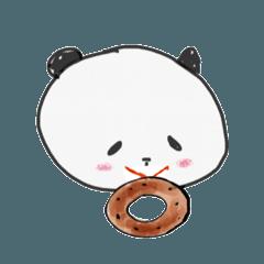 [LINEスタンプ] きゃわいい(^^)スタンプパンダちゃん