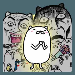 [LINEスタンプ] ステキなネコちゃん挨拶編