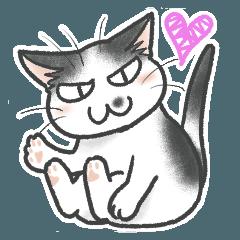 """[LINEスタンプ] """"ネコの日常3""""ネコさんと一緒03"""