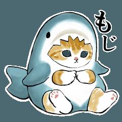 [LINEスタンプ] サメにゃん2