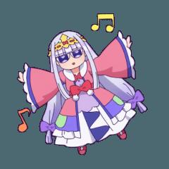 [LINEスタンプ] TVアニメ「魔王城でおやすみ」vol.3