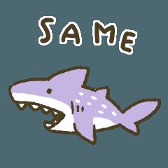 [LINEスタンプ] サメだよ★
