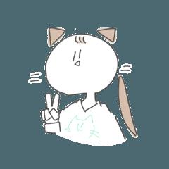[LINEスタンプ] どこぞの猫ちゃん。