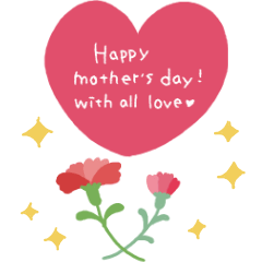 [LINEスタンプ] 母の日★BIGスタンプ