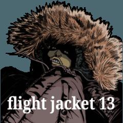 [LINEスタンプ] フライトジャケットーズ 13