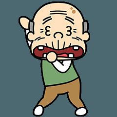 [LINEスタンプ] ダンシング★おじいちゃん