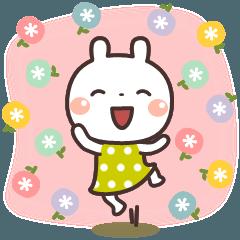[LINEスタンプ] うさぎの大人可愛いスタンプ♥日常♥