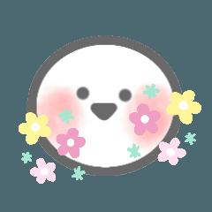 [LINEスタンプ] シンプル♡顔だけ絵文字風スタンプ
